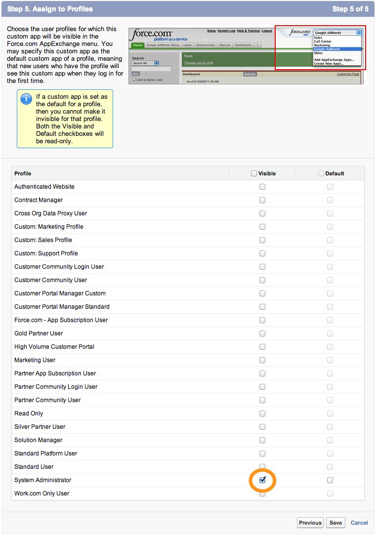 Salesforce App Tutorial